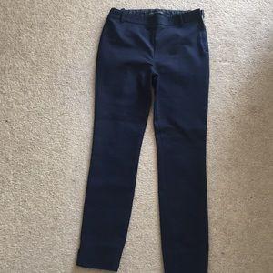 "Navy ""Zara"" skinny pants."